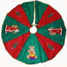 Weihnachtsbaumdecke Grün Rot Cristbaumdecke Baumdecke Weihnachten