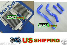Aluminum Radiator & hose Honda CRF 150R CRF150R CRF150 07-13 08 09 10 11 13 2012