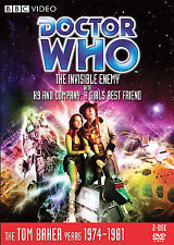 Doctor Who: The Invisible Enemy with K9 & Company - Story 93 - BBC (DVD, 2008)R1