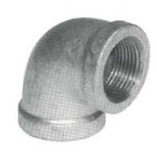 NEW LOT (25) 1/8 INCH GALVANIZED PIPE THREADED 90° ELBOW FITTINGS PLUMBING