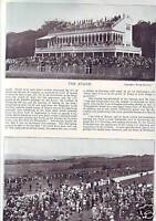 SUPERB 1896 PRINT OF THE STAND AT GOODWOOD