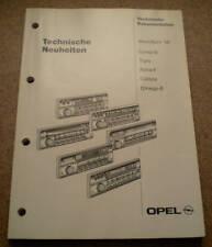Werkstatthandbuch Opel Corsa B Modelljahr 1996