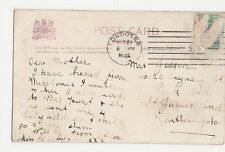 London SW Machine Cancel on Tuck Illustrated Songs Postcard, A820