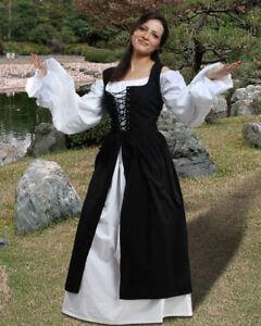 Renaissance Wench Pirate Medieval Costume Women Dress ToBeAPirate.com