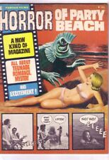 1964 HORROR OF PARTY BEACH picto-fiction, Wally Wood