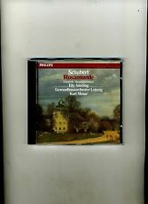 SCHUBERT-ROSAMUNDE c KURT MASUR, ELLY AMELING=PHILIPS 1985. GERMAN IMPORT. FN