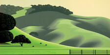 "Eyvind Earle     ""Soft Green Meadows""    MAKE  OFFER    DSS"