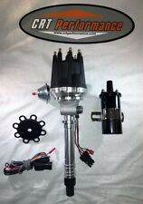 small cap CHEVY CORVETTE TACH DRIVE V8 HEI DISTRIBUTOR BLACK + 45K COIL BLACK