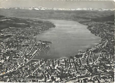 Alte Postkarte - Zürich (Flugaufnahme)