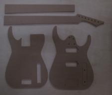 Blackmachine 7 string Gitarre Schablone templates Gitarrenbau