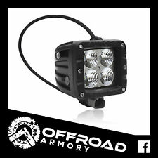 "AURORA 2"" LED WORK LIGHT BAR DUALLY REVERSE - 20 WATT FLOOD BEAM - SPREAD SPOT"