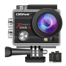 Campark FHD 1080p WiFi Action Sports Camera 30m Waterproof DV Camcorder Black AU