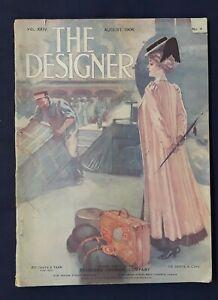 Designer Fashion Women's Magazine August 1906