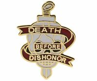 Death Before Dishonor Military Phrase Hat or Lapel Pin H15283 D93