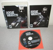 ROGUE WARRIOR PlayStation 3 PS3 3 Gritty Shooter Bethesda Rebellion