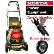 Rasaerba tosaerba Honda Power HRH536 idrostatico, raccolta, cardano, roto stop