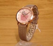 Ladies Radley London Meadow Brown Leather Rose-Gold Analog Quartz Watch RY2346
