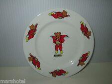 "Superted Super Teddy Bear Bone China 6.5"" Porcelain Plate 1982 Wales Petalcraft"