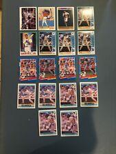 LOT OF 22 - 22! KEN GRIFFEY JR. BASEBALL CARDS, MISC. FROM 1991 & 1992, HOF