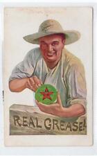 TEXACO AXLE GREASE: advertising postcard (C29917)