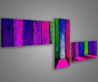 Quadri moderni astratti 180 x 70 stampe su tela canvas con telaio MIX-S_127