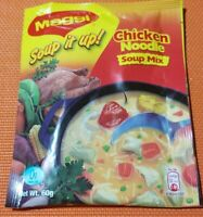 JAMAICAN MAGGI  SOUP IT UP! CHICKEN NOODLE SOUP MIX 12 PACKS X 60 G - FR JAMAICA
