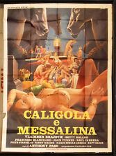 Caligola e Messalina Betty Roland Italian Movie Poster (4F) 80s