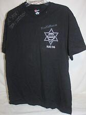 US Air Force Black T Shirt HeroToHero H2H/06 Orange County Deputy Sheriffs L M1