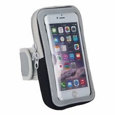 "Fitness Workout Mobile Phone 4.7"" Armband Storage Pocket Pouch Water Resistant"