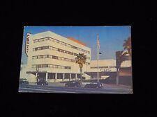 Vintage Postcard,LOS ANGELES, CALIFORNIA,CA,CBS TV Station KNX,To Kansas City,MO