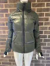 S 13/NYC WOMEN DOWN JACKET MILITARY/NATURAL  100% AUTHENTIC SIZE S