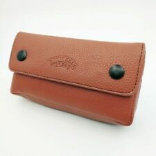 Brown Soft Smoking Pipe Case Tobacco Bag Pouch Tamper Filter Tool Cleaner