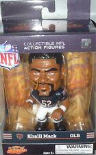 "KHALIL MACK Chicago Bears NFL Big Shot Ballers 4.5"" Football Figure Toy NEW"