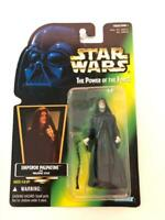 Star Wars Power of the Force POTF2 Collection 1 .00 Emperor Palpatine Green Holo