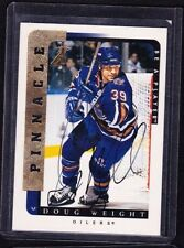 96-97 1996-97 BE A PLAYER DOUG WEIGHT AUTOGRAPH AUTO 174 EDMONTON OILERS