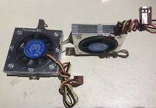 tennmax 12V cpu pga 370 Low Profile fan heat sink
