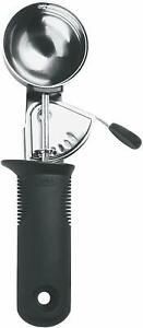 OXO Good Grips Trigger Scoop - Stainless Steel - Dishwasher Safe