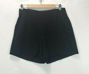 Ann Taylor Women's Petite Size 6 Black Side Zip Dress Shorts