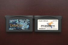 Game Boy Advance Tactics Ogre + Final Fantasy Tactics Japan GameBoy GBA games