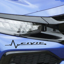2X Heartbeat Honda Civic Graphic for Truck Car Automotive Decal Vinyl Sticker