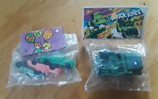 2 Vintage Packages Of Dime Store Mini Plastic Toys NOS Hong Kong