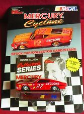 RARE, 1/64 RACING CHAMPIONS 1969 MERCURY CYCLONE #27, DONNIE ALLISON