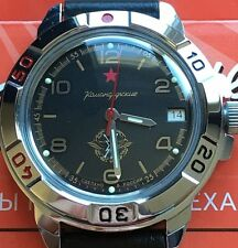 VOSTOK KOMANDIRSKIE RUSSIAN MILITARY WATCH #431296