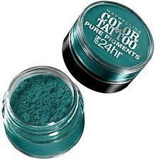 Maybelline New York Eyeshadow Color Tattoo Pure Pigments 5 Never Fade Jade