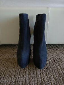 Tony Bianco suede leather high heel boots. Brand New. Size 7