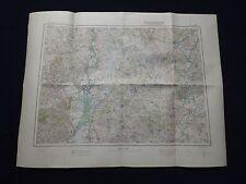 Landkarte von Mitteleuropa 1:300 000, Q 47 Szegedin, Subotica, Baja, 1941