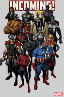 INCOMING #1 JORGE MOLINA PARTY VARIANT AVENGERS SPIDERMAN X-MEN