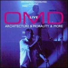 Live-Architecture & Morality & More - Omd (2008, CD NIEUW)