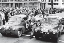 carte postale - RENAULT 4 CV Rallye du Maroc 1952 - 10x15 cm