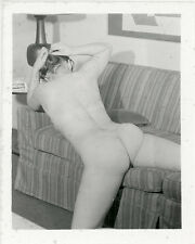 Vintage Nude Photo Original 1950's Sexy Woman Amateur Risque Pinup HF9